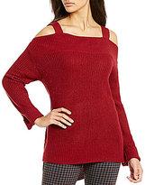 Sanctuary Amelia Cold-Shoulder Sweater