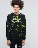 Cheap Monday Nuclear Dye Sweatshirt