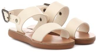 Ancient Greek Sandals Kids Little Clio Soft leather sandals