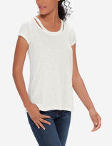 The Limited Cutout Neck Tee