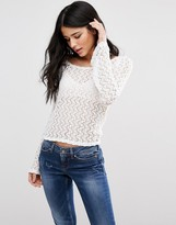 Blend She Daisy Long Sleeved T-Shirt