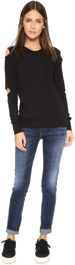 LnA Cutout Sweater