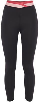 Iris & Ink Striped Stretch Leggings
