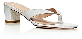 Stuart Weitzman Women's Brigida 50 Slip On Thong Sandals