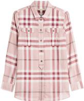 Burberry Printed Cotton Shirt