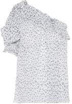 Ulla Johnson Alene one-shoulder cotton top