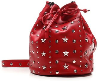 RED Valentino Sky Combat Bucket Bag