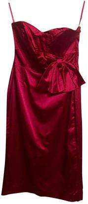Coast Red Silk Dress for Women