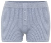 Thumbnail for your product : Live The Process Ribbed-knit shorts