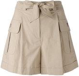 Moschino cargo pocket shorts - women - Cotton/Other fibres - 42