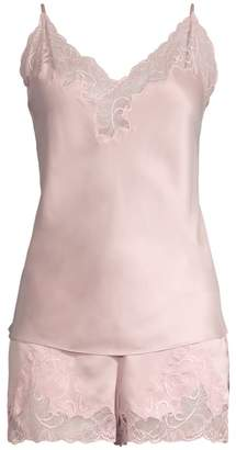 Natori Plume Bridal 2-Piece Camisole & Shorts Set