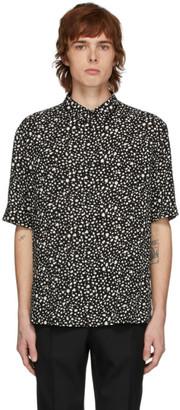 Saint Laurent Black Leopard Shirt