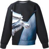 Juun.J x Hajime Sorayama sweatshirt - men - Polyester/Polyurethane - 48
