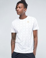 Kappa T-shirt With All Over Spot Print