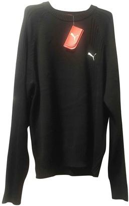 Puma Black Cotton Knitwear & Sweatshirts