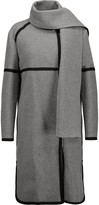Belstaff Fenn draped wool-blend coat