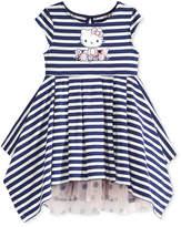 Hello Kitty Striped Dress, Little Girls