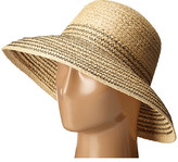 Lauren Ralph Lauren Braided Top Stitched Raffia Sun Hat