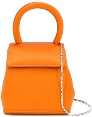 Rubeus Liza micro top-handle satin bag