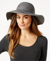 Calvin Klein Logo Wool Floppy Hat