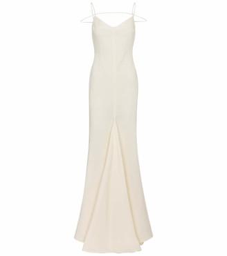 Jacquemus Bridal La Robe Camargue linen gown