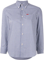 DSQUARED2 micro checked shirt - women - Cotton - 38