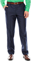 Jf J.Ferrar JF Shimmer Shark Flat-Front Suit Pants - Slim-Fit