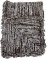 Barneys New York Natural Goma Knit Throw