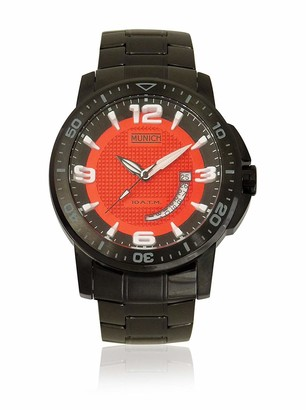 Munich Unisex Adult Analogue Quartz Watch with Stainless Steel Strap MU+132.1B