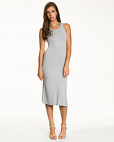 Le Château Jersey Racer Back Midi Dress