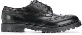 Premiata Brogue Detail Derby Shoes