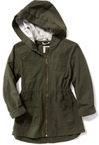 Old Navy Fitted Utility Jacket for Girls