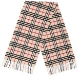 Burberry Nova Check Wool Scarf