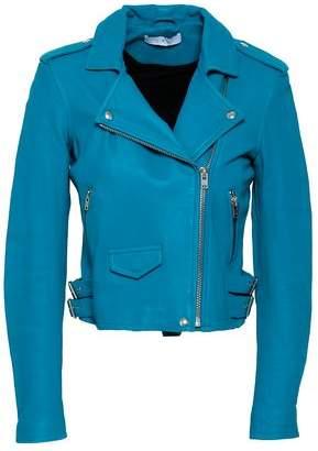 IRO Ashville Distressed Leather Biker Jacket