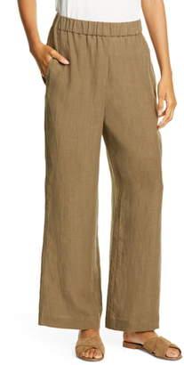 Jenni Kayne Elastic Waist Linen Pants
