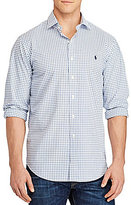 Polo Ralph Lauren Big & Tall Check Poplin Long-Sleeve Woven Shirt