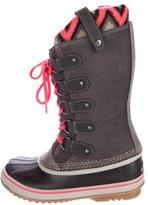 Sorel Suede Snow Boots