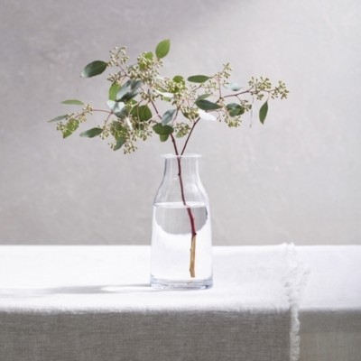The White Company Kenton Small Bottle Vase , Clear, One Size