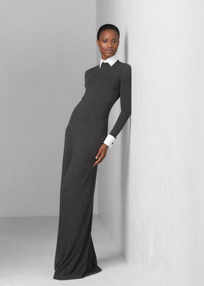 Ralph Lauren Worsted Wool Sweater Evening Dress