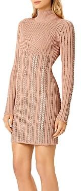 Herve Leger Braided Mini Dress