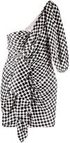 Alexandre Vauthier polka-dot ruffle mini dress