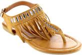 Women's Beston Waikiki-02 Fringe T Strap Sandal