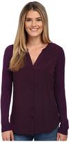 NYDJ Woven Sweater Combo Cardigan