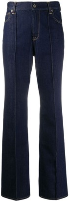 Golden Goose Flared Mid-Rise Jeans
