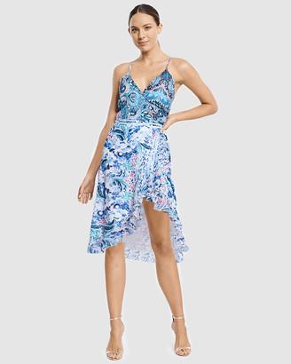 Aqua Blu Australia Babylon Wrap Dress