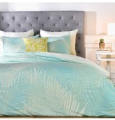Deny Designs Aimee St. Hill Pale Palm Duvet Cover & Sham Set