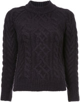 GUILD PRIME cable knit jumper