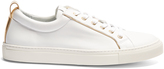 Balmain Leather low-top trainers