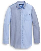 Tommy Hilfiger Final Sale- Colorblock Striped Shirt