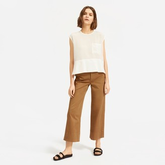 Everlane The Silk Square Muscle Top